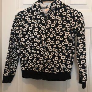 Girls zipped hoodie